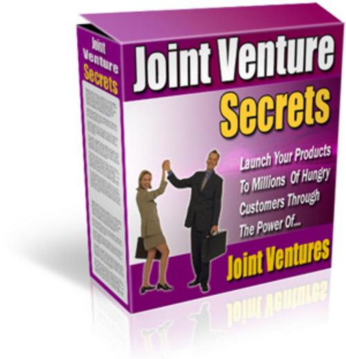 Product picture Joint Venture pdf - Joint Venture Secrets