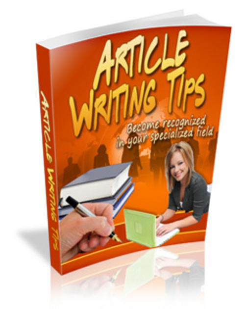 Product picture Article Writing Tips