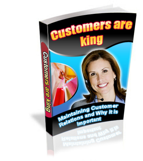 Product picture Customers are King (customer relations management)